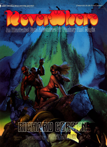 NEVERWHERE Den 1 Rich Corben Fritz Leiber Heavy Metal Howard Burroughs Lovecraft Horror Science Fiction Sexy Fantasy Underground Collection*