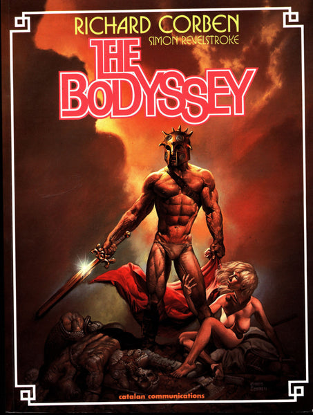 Rich Corben BODYSSEY Catalan Heavy Metal Monsters Sword Sorcery Barbarian Science Fiction Sexy Fantasy Collection*