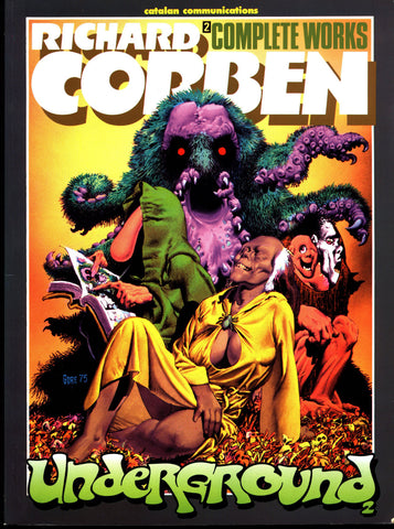 Rich Corben Complete Works Underground Vol 2 Catalan Heavy Metal Werewolf Monsters Horror Science Fiction Sexy Fantasy Collection*
