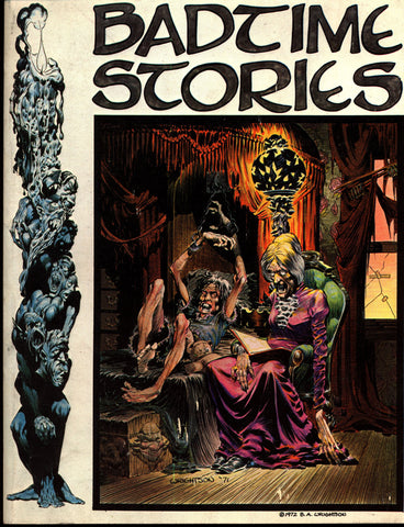 BADTIME STORIES Berni Wrightson Science Fiction Sexy Horror Fantasy Fanzine*