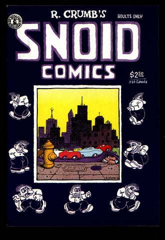 SNOID COMICS #1 3rd Robert Crumb All Mr. Snoid ADULT Dope Drugs Sex Psychedelic Hippy Underground*