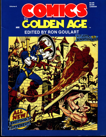 Comics The GOLDEN AGE Marvel Timely Comics Ron Goulart Jack Kirby Joe Simon Captain America Sub-Mariner Human Torch