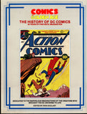 Comics The GOLDEN AGE History of DC Comics Ron Goulart Superman Batman Flash Wonder Woman Siegel Shuster Bob Kane
