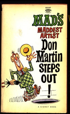 "MAD Magazine paperback ""Mad's Maddest Artist"" 1st DON MARTIN Steps Out Fester Bestertester and Karbunkle"