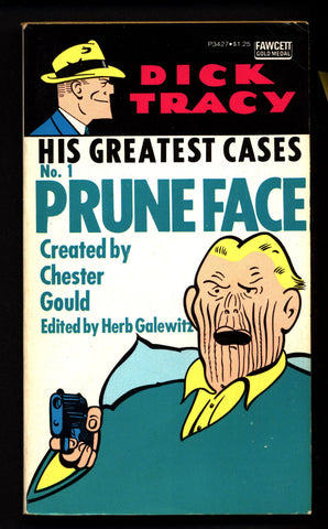 'DICK TRACY' #1 His Greatest Cases, #1 Pruneface Chester Gould Newspaper Comic Strips