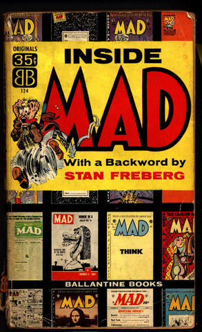 INSIDE MAD 1st 1956 Jack Davis Wally Wood Bill Elder Stan Freberg Harvey Kurtzman William M Gaines Al Feldstein