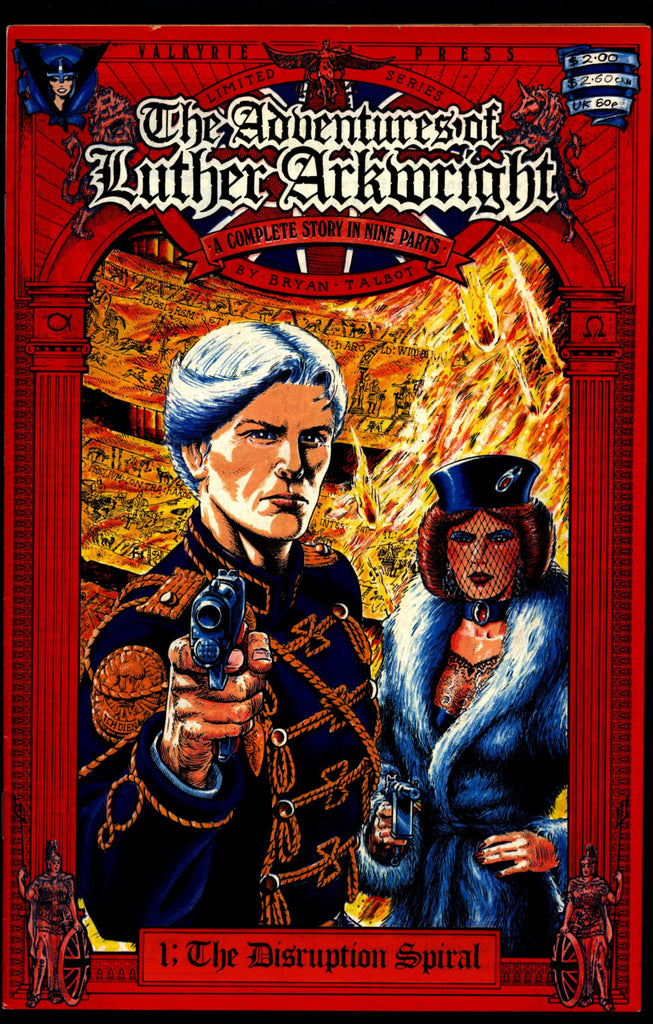 Adventures Of Luther Arkwright Luther Arkwright 1 By Bryan Talbot