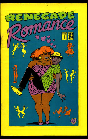Renegade ROMANCE #1 Quirky Humor Anthology Comics Williamson Beto Mario Hernandez Cynthia Martin Mary Wilshire Trina Robbins Deni Loubert