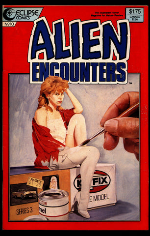 ALIEN ENCOUNTERS #10 Ray Bradbury Gray Morrow Tom Sutton Beppe Sabatini Denis McFarling eclipse Comics Science Fiction Horror