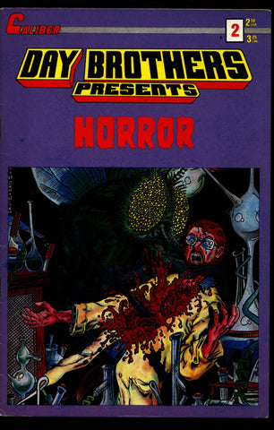 DAY BROTHERS PRESENT #2  Dan David & Gene Day Horror Science Fiction Comic Book