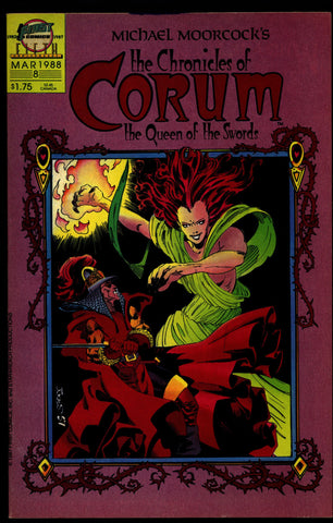 Chronicles of CORUM #8 Queen of Swords Michael Moorcock Mike Baron Butch Guice Sword & Sorcery Magick Fantasy Comic Book