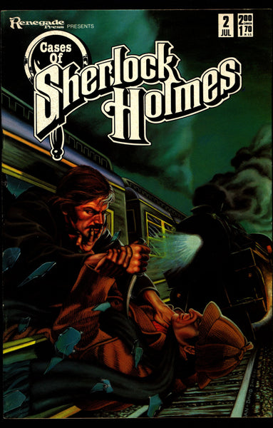 Cases of SHERLOCK HOLMES #2 Sir Arthur Conan Doyle Dan Day The Adventure of the Dancing Men Dr. Watson Mystery Comic Book