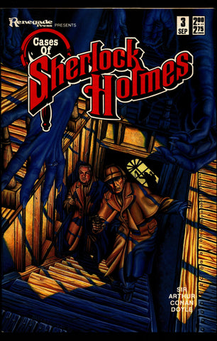 Cases of SHERLOCK HOLMES #3 Sir Arthur Conan Doyle Dan Day The Strange Adventure of The Vourdalak Dr. Watson Mystery Comic Book