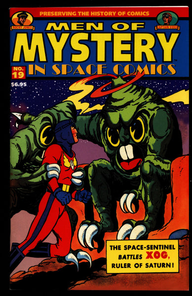 MEN of MYSTERY Space Comics #19 Rocky Jones Captain Video Space Sentinel Illustrated Superhero Science Fiction Fantasy Comic Book