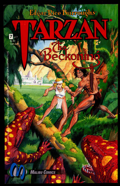 TARZAN The Beckoning #7 Edgar Rice Burroughs Tom Yeates Henning Kure Jungle Hero Pulp Action Adventure Comics