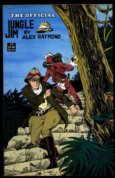 Official JUNGLE JIM Bradley #5 Alex Raymond Jungle Action Adventure Comic Book Newspaper Reprints Pioneer Comics