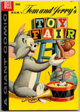 TOM and JERRY Toy Fair #1 1958 Dell Comics Hanna Barbera MGM Cartoons Tex Avery Droopy Mouse Musketeers Barney Bear Big Spike & Little Tyke