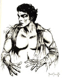 "RARE ""The Magic of Frank FRAZETTA"" B CONAN Buster Crabbe Flash Gordon PinUps Tarzan Science Fiction Cartoon Fantasy Art"