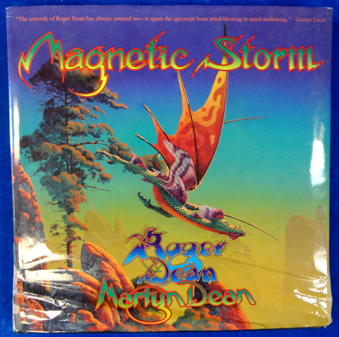 MAGNETIC STORM Roger Dean Psychedelic Rock n Roll Illustrations & Stage Design War of the Worlds Rick Wakeman Rolling Stones Yes