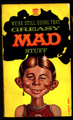 "Greasy MAD Stuff Magazine Paperback ""The Usual Gang of Idiots"" Albert B Feldstein William M Gaines"