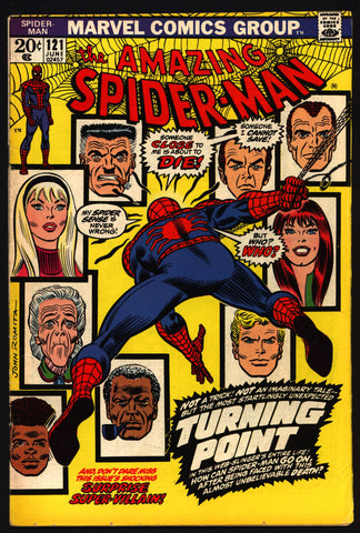 Amazing SPIDERMAN #121 KEY ISSUE Green Goblin Norman Osborn Gwen Stacy Gerry Conway Gil Kane Roy Thomas