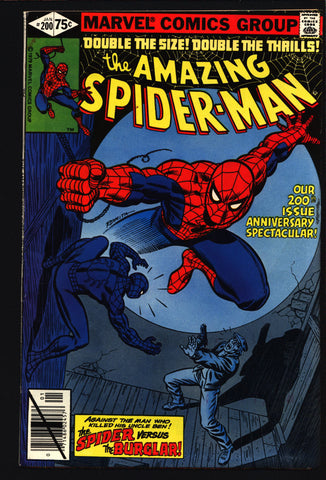Amazing SPIDERMAN #200 Origin Sequel Vs The Burgler Marv Wolfman Keith Pollard Stan Lee Aunt May