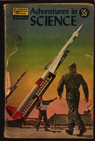 CLASSICS ILLUSTRATED Comics Special Issue #138 Adventures in Science Louis Pasteur by Gilberton