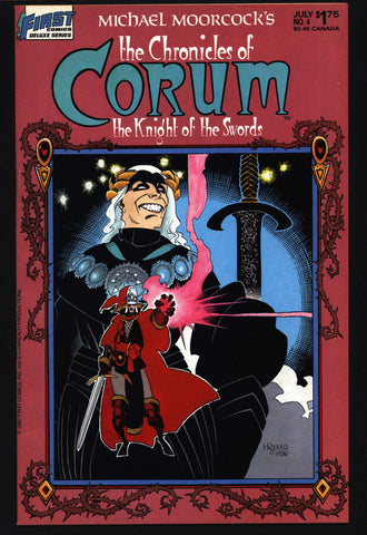 Chronicles of CORUM #4 Knight of Swords Michael Moorcock Mike Baron Mike Mignola Mabden Sword Rulers & Sorcery Magick Fantasy Comic Book
