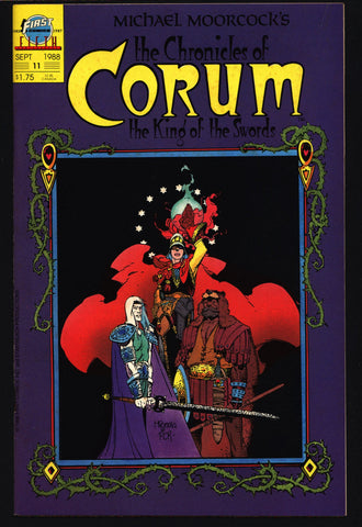 Chronicles of CORUM #11 Knight of Swords Michael Moorcock Mike Baron Mike Mignola Mabden Sword Rulers & Sorcery Magick Fantasy Comic Book