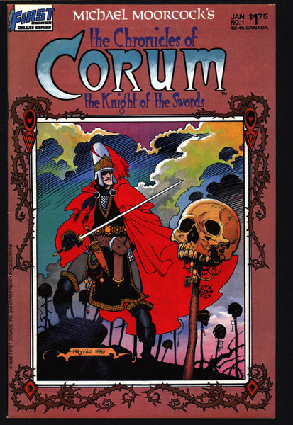 Chronicles of CORUM #1 Knight of Swords Michael Moorcock Mike Baron Mike Mignola Mabden Sword Rulers & Sorcery Magick Fantasy Comic Book