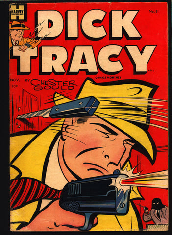 "'DICK TRACY' #81 Chester Gould Harvey Comics crime comics Detective Newspaper Comic Strips ""Funnies"""