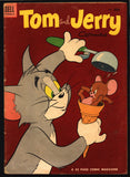 TOM and JERRY #120 1950 Dell Comics, Hanna Barbera, Cartoons, Droopy, Barney Bear,