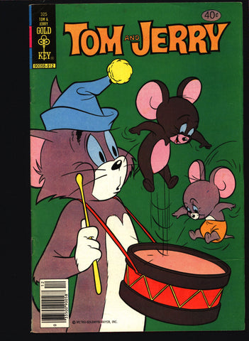 TOM and JERRY #325 1979 Gold Key Comics, Hanna Barbera,