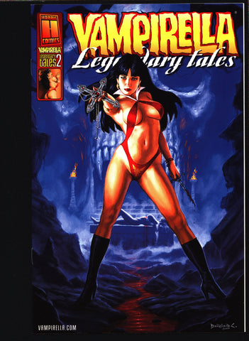 VAMPIRELLA Legendary Tales #2 Harris Comics,Bill Dubay,Rich Margopoulos,Jose Gonzales Lady Vampire Vampy continues from Warren Publications,