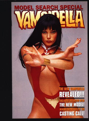 VAMPIRELLA Model Search #1 Harris Comics, Seth Biederman, Nicole Wiley, Lady Vampire Vampy continues from Warren Publications,