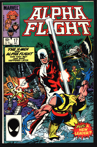 ALPHA FLIGHT 17 John Byrne,Chris Claremont,Weapon Alpha,Vindicator,Guardian,Aurora,Sasquatch,Wolverine,Storm,Colossus,Magneto,Sentinels