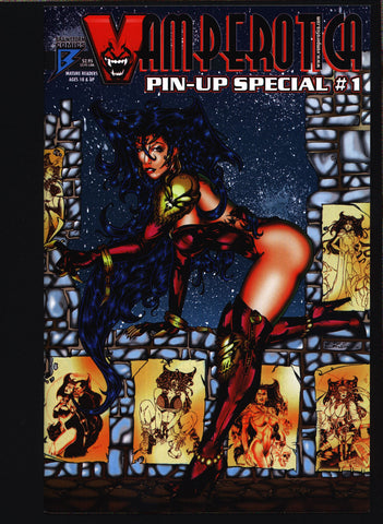 Vamperotica, Pin-Up Special #1 Kirk Lindo,Michael Potter,Tom Derenick,Tony Carpenter,Enrique Savory Jr.,Robert B. Durham,Vampire erotic
