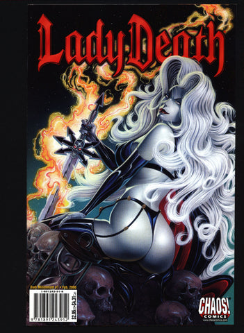 LADY DEATH Dark Millennium #1 Brian Pulido, Len Kaminski, Ivan Reis Horror Pin Up Vampire Comic Book