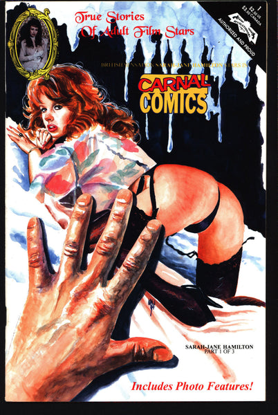 Carnal Comics: Sarah-Jane Hamilton #1 True Stories of Adult Film Stars, Jay Allen Sanford,Fauve,Derrick Richardson Comic Book