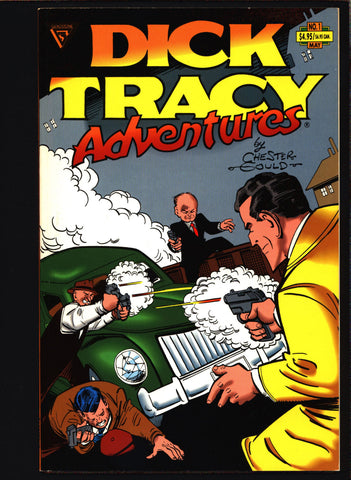 'DICK TRACY' Adventures #1 Chester Gould, B.B. Eyes, crime comics,Pulp,Noir,Comic Strips, Comic Book Reprints