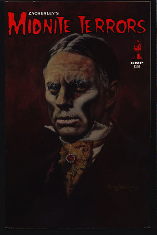 ZACHERLEY'S MIDNITE TERRORS #1 The Cool Ghoul, Shock Theater, Chiller Theatre, Neil Vokes, Universal Studios Monsters, Comic Book