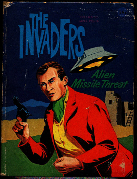 Philip K Dick, The Invaders: Alien Missile Threat, A Big Little Book, No. 2012 BLB Paul S Newman,Cult 60s Science Fiction Television Show