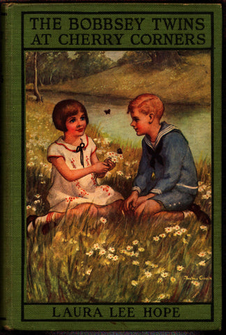 Bobbsey Twins at Cherry Corners, #20, Laura Lee Hope, Stratemeyer Syndicate Grosset & Dunlap, 1927, Hardcover