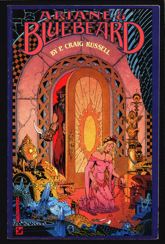 Ariane & Bluebeard, Maurice Maeterlinck,Paul Dukas, fairy tale, opera, Comic Book adapted by P. Craig Russell,1989 eclipse comics