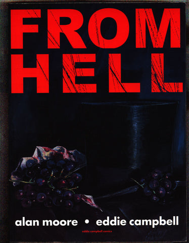FROM HELL, Alan Moore, Eddie Campbell,Jack the Ripper,Graphic Novel Collection, basis of Albert Hughes & Allen Hughes Johnny Depp Movie