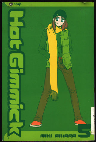 HOT GIMMICK #5 Miki Ahara Viz Communications Manga Comics Collection,Teenage Angst, Hatsumi,Akane,Ryoki,