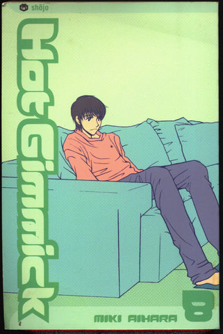 HOT GIMMICK #8 Miki Ahara Viz Communications Manga Comics Collection,Teenage Angst, Hatsumi,Akane,Ryoki,