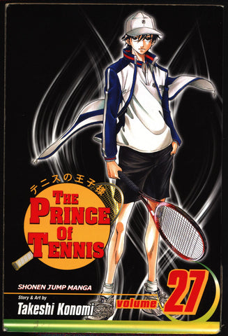 PRINCE of TENNIS #27 Takeshi Konomi, Viz Communications, Shonen Jump Sports Manga Comics Collection,Ryoma,