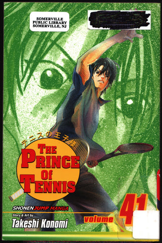 PRINCE of TENNIS #41 Takeshi Konomi, Viz Communications, Shonen Jump Sports Manga Comics Collection,Ryoma,
