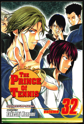 PRINCE of TENNIS #32 Takeshi Konomi, Viz Communications, Shonen Jump Sports Manga Comics Collection,Ryoma,